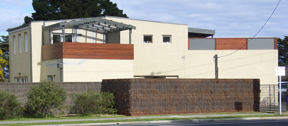 Pergola, Privacy Screens & Fence - Unit Renovation